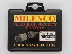 Milenco High-Security Caravan Locking Wheel Bolts