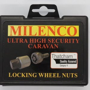 Milenco High-Security Caravan Locking Wheel Bolts