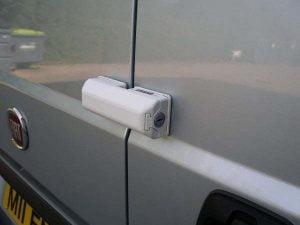 Milenco Van Door Lock White