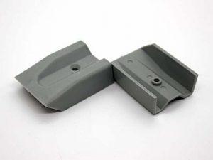 Freedom Microlite Window Rail End Caps - Grey